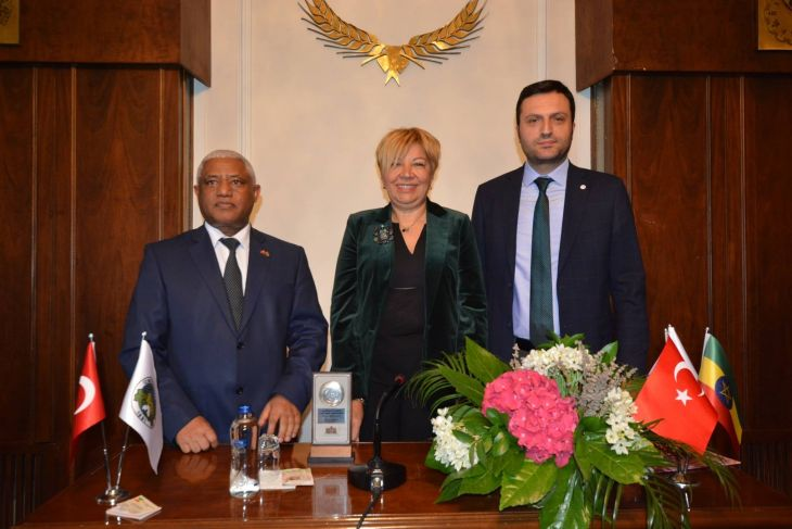 Ethiopia and İzmir are to seek cooperation in agriculture